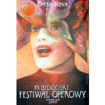 Bydgoszcz Opera Festival XII.  Wiktor Sadowski Polish Poster
