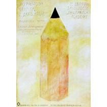 Modern Graphic from Bangladesh Wiktor Sadowski Polish Poster