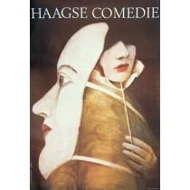 Haagse Comedie Wiktor Sadowski Polish Poster