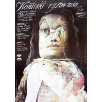 Draughtsman's Contract Peter Greenaway Wiktor Sadowski Polish Poster
