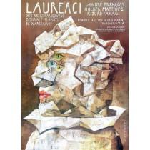 Winner of 13. Poster Biennial Wiktor Sadowski Polish Poster