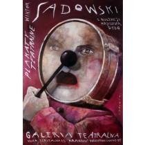 Theater posters – exhibition Wiktor Sadowski Polish Poster
