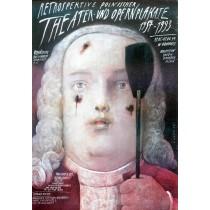 Retrospective of Polish theater and opera posters Hannover 1957-1993 Wiktor Sadowski Polish Poster