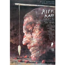 Riff Raff Wiktor Sadowski Polish Poster