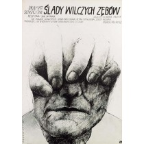 End of the Lonely Farm Berghof  Wiktor Sadowski Polish Poster
