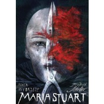 Maria Stuart by Friedrich Schiller  Polish Poster