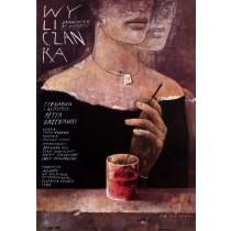 Drowning by nummbers Peter Greenaway Wiktor Sadowski Polish Poster