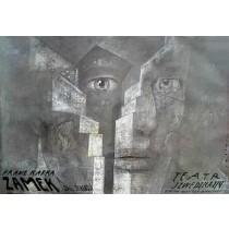 Castleby Franz Kafka  Polish Poster