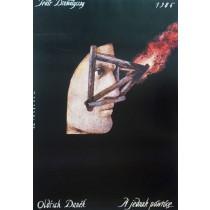 Vrátím se do Prahy, Oldřich Daněk  Polish Poster