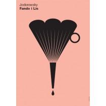 Fando and Lis Alejandro Jodorowsky Joanna Górska Jerzy Skakun Polish Poster