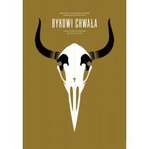 Glory to The Bull Franciszek Starowieyski Joanna Górska Jerzy Skakun Polish Poster