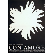 Con amore Romuald Socha Polish Poster
