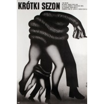 A Brief Season Romuald Socha Polish Poster