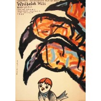 Willy the Sparrow Jozsef Gemes Romuald Socha Polish Poster