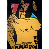 Big Kill Romuald Socha Polish Poster