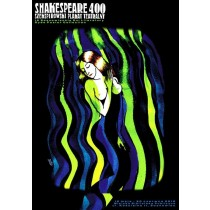 Shakespeare 400 Monika Starowicz Polish Poster