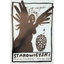 Starowieyski exhibition in Gallery BWA Zamość Franciszek Starowieyski Polish Poster