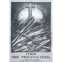 Force of Destiny Franciszek Starowieyski Polish Poster