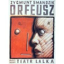 Orfeusz Franciszek Starowieyski Polish Poster
