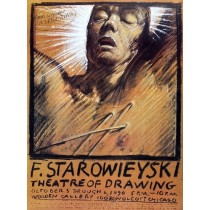 Theatre of Drawing Franciszek Starowieyski Polish Poster