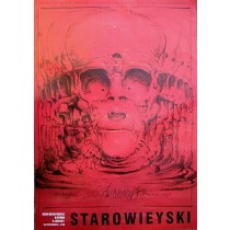 Eternity exhibition at the Museum of Industrial History  Franciszek Starowieyski Polish Poster