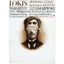 Lokis Janusz Majewski Franciszek Starowieyski Polish Poster