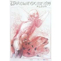 Starowieyski Album 1699  Franciszek Starowieyski Polish Poster