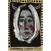 Witches of Salem Wybrzeże Theatre  Franciszek Starowieyski Polish Poster