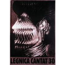 Legnica Cantat 30  Franciszek Starowieyski Polish Poster