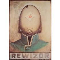 Government Inspector Wałbrzych  Franciszek Starowieyski Polish Poster