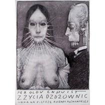 Rain snakes  Franciszek Starowieyski Polish Poster