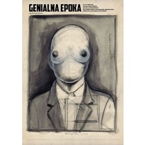 Brilliant Era Bruno Schulz  Franciszek Starowieyski Polish Poster