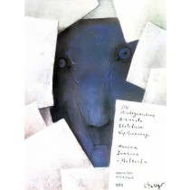 Biennale of Contemporary Exlibris - 14th Stasys Eidrigevicius Polish Poster