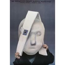 Biennial of contemporary exlibris in Malbork 13rd Stasys Eidrigevicius Polish Poster