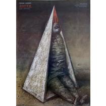 Castle Franz Kafka Stasys Eidrigevicius Polish Poster