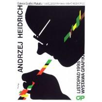 Andrzej Heidrich Waldemar Świerzy Polish Poster