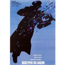 Fiddler on the roof Teatr Rozrywki Chorzów Waldemar Świerzy Polish Poster