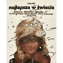 Best in the World Waldemar Świerzy Polish Poster
