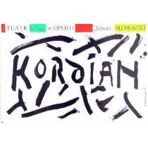 Kordian Henryk Tomaszewski Polish Poster