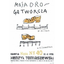 My way as artist Henryk Tomaszewski Polish Poster