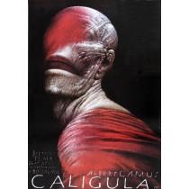Caligula Wiesław Wałkuski Polish Poster