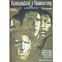 Force 10 from Navarone Guy Hamilton Wiesław Wałkuski Polish Poster