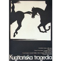 Kugitan Tragedy Kakow Orazschatow Mieczysław Wasilewski Polish Poster