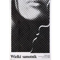 Great Solitary Iulian Mihu Mieczysław Wasilewski Polish Poster