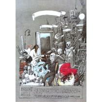 Seven Deadly Sins, Brecht, Weill Janusz Wiśniewski Polish Poster