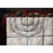 Jewish Cultur in polish posters Leszek Wiśniewski Polish Poster