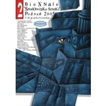 Biennale. Art society Poznań Leszek Wiśniewski Polish Poster
