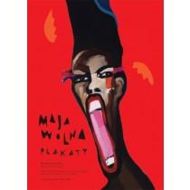 Maja Wolna Poster Exhibition Maja Wolna Polish Poster