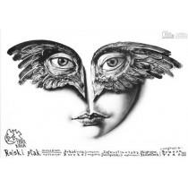 Bird of Paradise Leszek Żebrowski Polish Poster