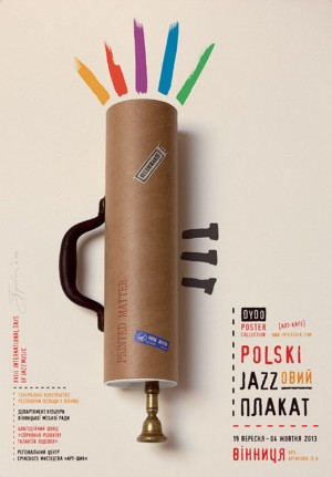 Polish Jazz Posters Tomasz Bogusławski Polish exhibition poster